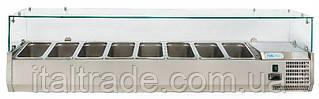 Витрина холодильная для топпинга Forcold G-VRX1800-380