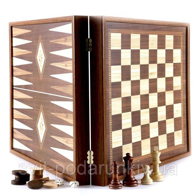 Шахматы и нарды STP28E Manopoulos