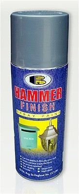 Молоткова спрей-фарба для металевих поверхонь