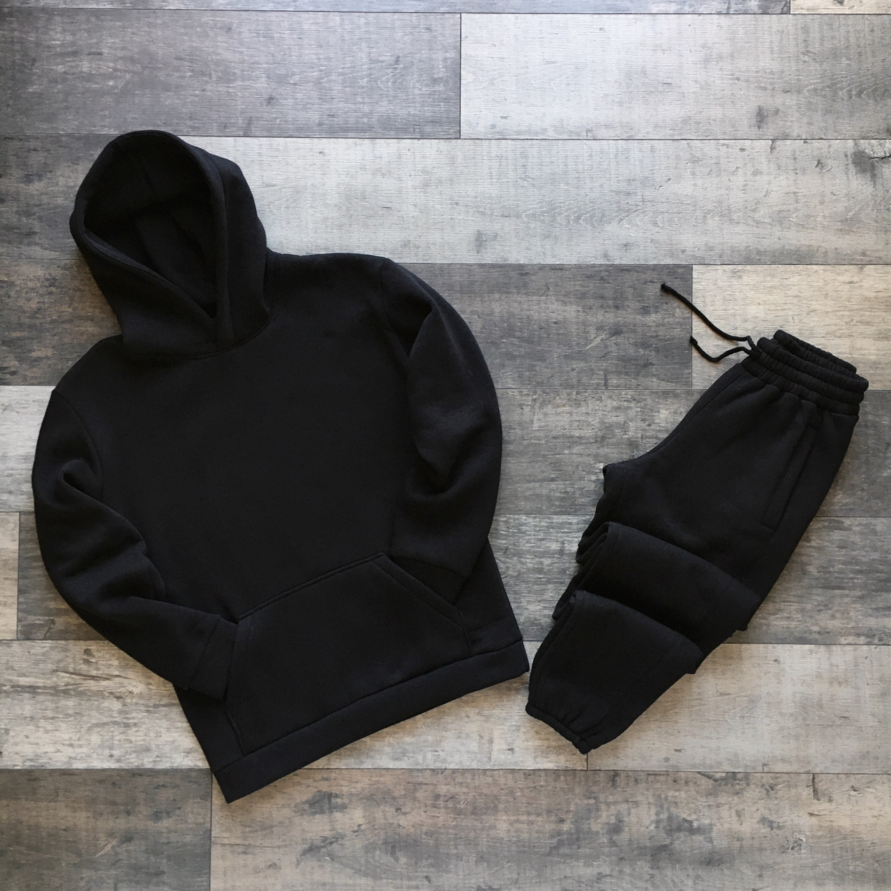 Спортивный костюм мужской черный сезон весна осень База от бренда Тур