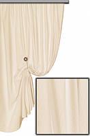 Ткань хлопковая с тефлоновым покрытием, цвет ванильный