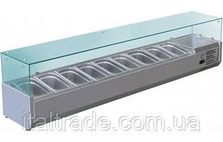 Витрина холодильная для топпинга Forcold G-VRX2000-380