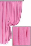 Ткань хлопковая с тефлоновым покрытием, цвет ярко-розовый