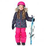 Зимний термокомплект для девочки NANO F20M286 DkNavy Bubblegum. Размеры 3 - 8., фото 2