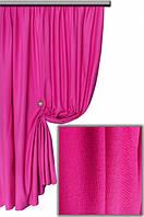 Ткань хлопковая с тефлоновым покрытием, цвет ярко-малиновый