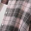 Рубашка женская фланелевая удлиненная оверсайз в расцветках, фото 6