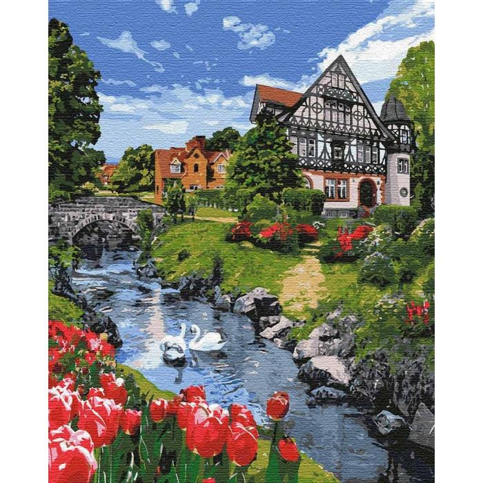 Картина по номерам Чарівний пейзаж, 40x50 см., Идейка
