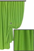 Ткань хлопковая с тефлоновым покрытием, цвет ярко-зеленый