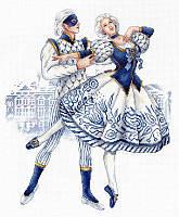 """""""Русские традиции. Императорский фарфор"""" М.П. Студия. Набор для вышивки крестом (НВ-668)"""