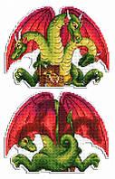 """""""Змей Горыныч"""" М.П. Студия. Набор для вышивки крестом (Р-405)"""