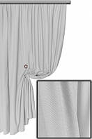 Ткань хлопковая с тефлоновым покрытием, цвет светло-серый