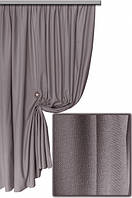 Ткань хлопковая с тефлоновым покрытием, цвет серый