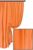 Ткань хлопковая с тефлоновым покрытием, цвет оранжевый