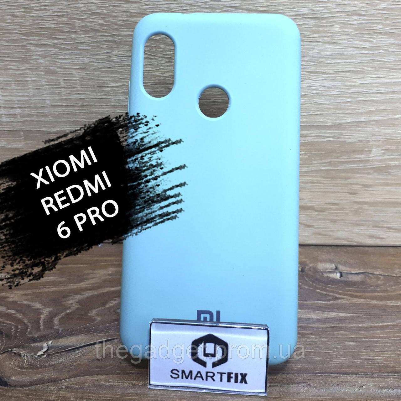 Силиконовый чехол для Xiaomi Mi A2 Lite/Redmi 6 Pro