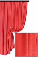 Ткань хлопковая с тефлоновым покрытием, цвет моковно-красный