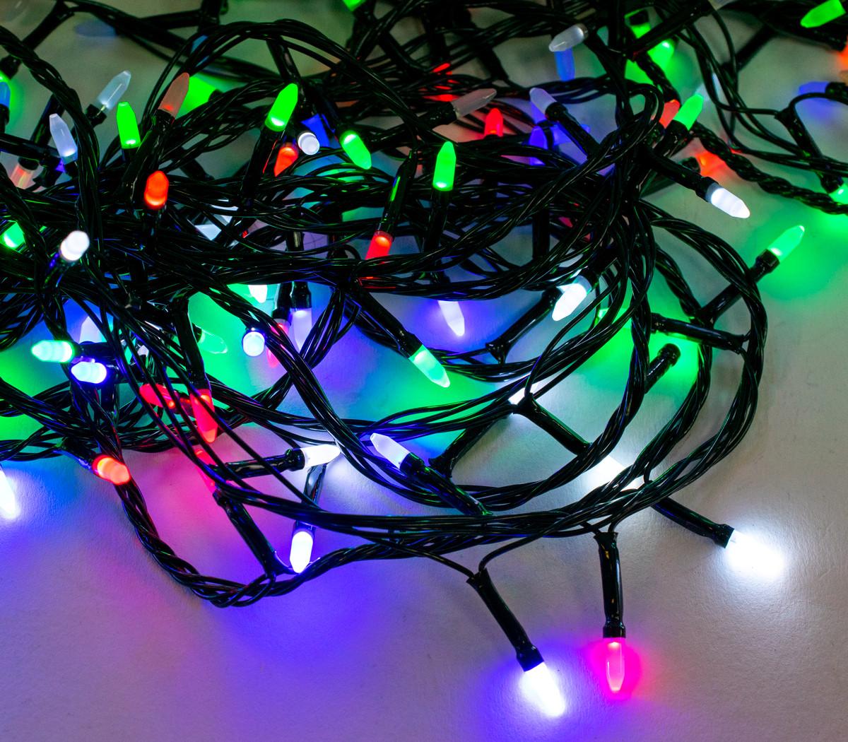 Новорічна гірлянда Xmas LED 400 M-3 16 метрів, світлодіодна гірлянда на ялинку (гірлянда на ялинку)