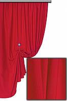 Ткань хлопковая с тефлоновым покрытием, цвет красный