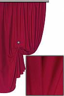 Ткань хлопковая с тефлоновым покрытием, цвет бордовый