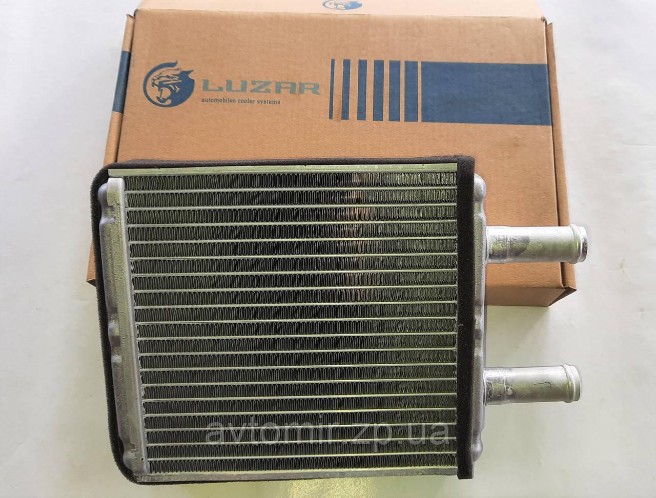 Радиатор отопителя ВАЗ 1117-1119, 2170-2172,Калина, Приора алюминиевый с кондиционером HALLA Лузар
