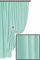 Ткань хлопковая с тефлоновым покрытием, цвет бледно-бирюзовый