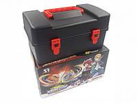 Кейс для хранения блейдов Beyblade Box черный, фото 1