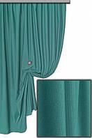 Ткань хлопковая с тефлоновым покрытием, цвет морская волна