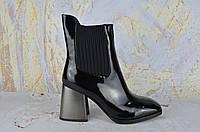 Лаковые ботинки женские BROCOLY