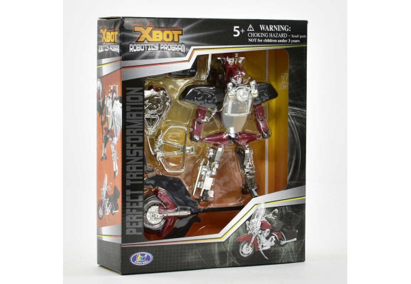 Игрушка трансформер мотоцикл