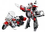 Игрушка трансформер мотоцикл, фото 2