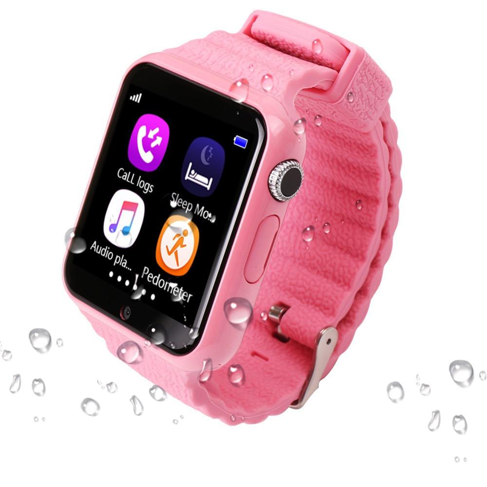 Детские смарт часы наручные Smart Watch G3, смарт вотч для детей розовые