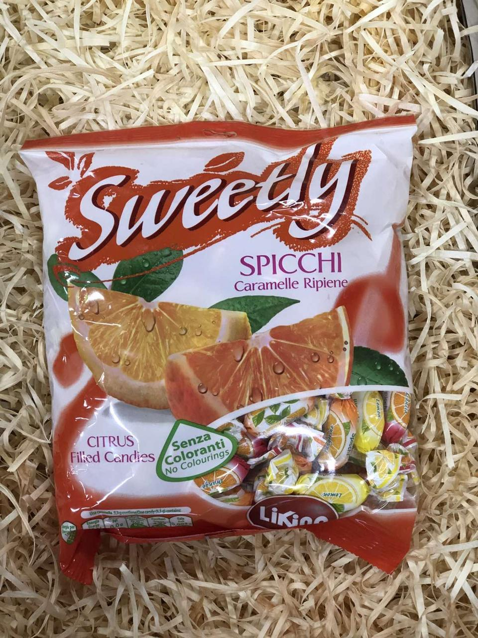 Леденцы Sweetly Citrus 500г