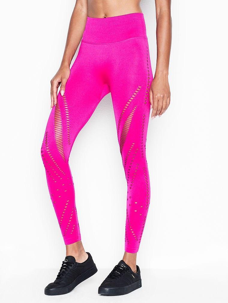 Спортивні Штани Victoria's Secret PINK Seamless Tight, Фуксія