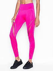 Спортивные Леггинсы Victoria's Secret PINK Seamless Tight, Фуксия