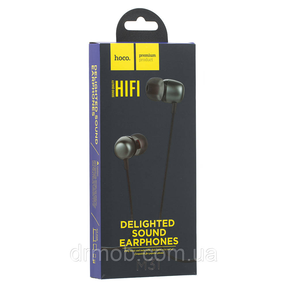 Купить Наушники и гарнитуры, Проводная гарнитура Hoco M31 Delighted Sound