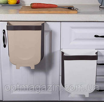 Складное мусорное ведро Foldable Hanging Garbage Bin, фото 2
