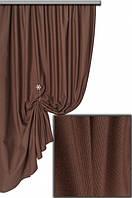Ткань хлопковая с тефлоновым покрытием, цвет коричневый