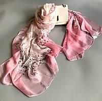 Шаль шарф (177*100см) ШЕЛК 100%