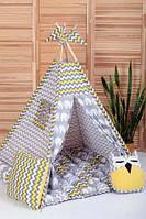 Вигвам Хатка комплект Бонбон Египет с подушками