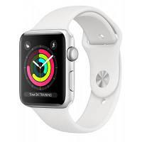 Смарт-часы Apple Watch Series 3 GPS, 42mm Silver Aluminium Case (MTF22FS/A)