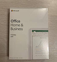 Microsoft Office 2019 Home & Business MAC/Windows (BOX + наклейка стикер)