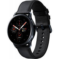 Смарт-годинник Samsung SM-R820 Galaxy Watch Active 2 44mm Stainless Steel Black (SM-R820NSKASEK)