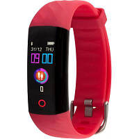Фитнес браслет AMICO Go FIT OXIMETER IPS PULSE AD TONOMETER red