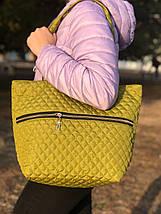 Женская сумка стеганая BR-S зеленая (1276644828), фото 3