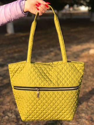 Женская сумка стеганая BR-S зеленая (1276644828), фото 2