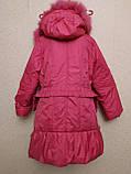 Пальто-куртка удлиненная для девочки 6-10 лет, фото 10