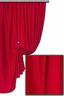 Ткань хлопковая с тефлоновым покрытием, цвет красный № 2