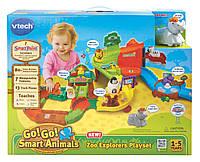Музыкальный набор умный зоопарк VTech Go! Go! Smart Animals Zoo Explorers Playset, фото 1