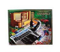 """Игра настольная """"Монополия"""" (укр), Dankotoys, детская настольная игра,настольные игры для"""