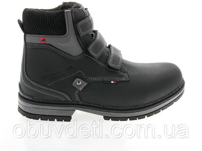 Качественные зимние ботинки для мальчика american club 33 - 21,7 cm