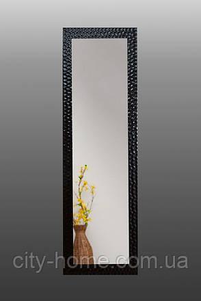 Напольное зеркало в черном цвете 1900х600 мм, фото 2